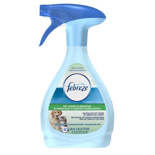 (Febreze  Air Freshener, Fabric Refresher  Air Freshener, Pet Odor Eliminator Air Freshener, 27 oz)