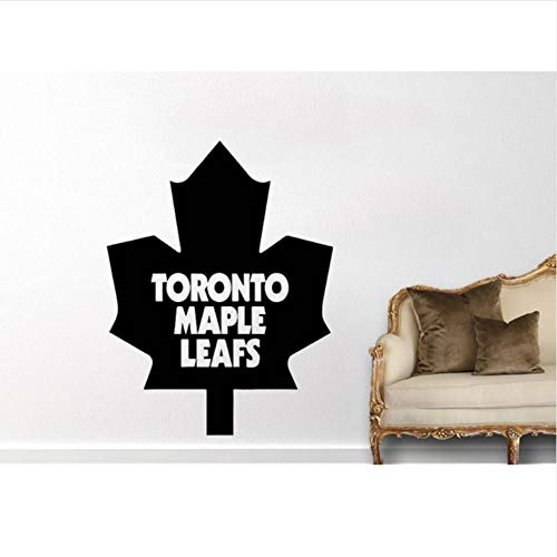 (alasijia Canada Toronto Maple Leaf Wall Decal Fashion Home Decor for Kids Room Living Room Removable Art Mural Houseware Decal 57X77Cm)