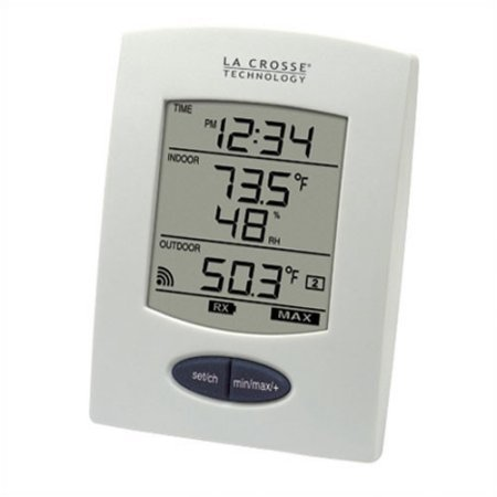 La Crosse Technology Accurate Digital Weather Temperature Humidity Home Monitor (Rite Temp Digital Thermostat)