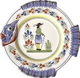 Quimper Fish Plate - Henriot