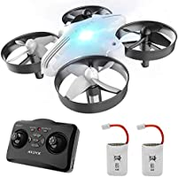 ATOYX AT-66 Mini Drone, RC Nano Quadcopter Auto Hovering Headless Mode 3D Flips 3 Speeds RC Helicopter Plane