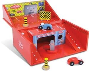 Vilac 2328 - Garaje y coches de juguete (madera)