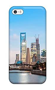 Waterdrop Snap-on Shanghai Cityscape Case For Iphone 5/5s
