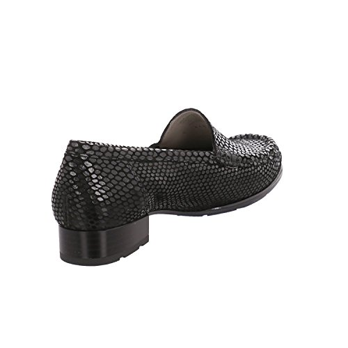 ara Croc Effect Moccasin 146 147 - Black Size 7.5 UK n7EbU6