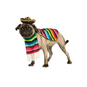 Rubie's Pet Costume, Large, Mexican Serape