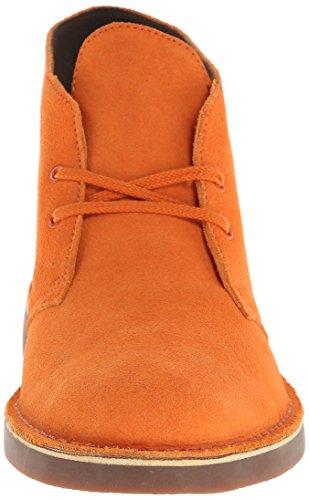 Clarks Menns Bushacre 2 Chukka Boot Orange