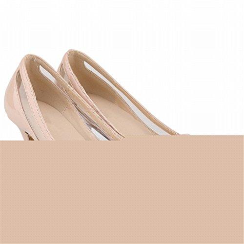 Pumput Kiiltonahkaa Korkokengät Kengät Matta Stiletto Beverly Musta Stewart Naisten Nainen Teräväkärkiset 12cm Seksikäs 1UqZCZ