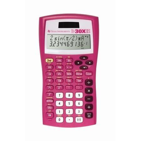 Texas Instruments TI-30X IIS Calculator Pink WLM (Calculator Ti 30x compare prices)