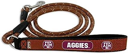 GameWear NCAA Football Leather Rope Leash