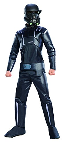 (Rogue One: A Star Wars Story Child's Deluxe Death Trooper Costume, Medium)