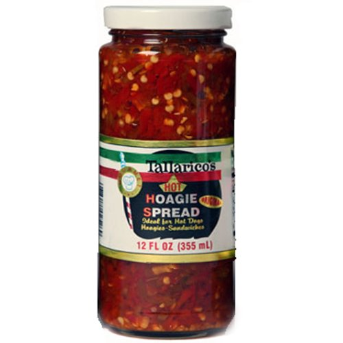 (Tallarico's Hot Hoagie Spread 12oz.)