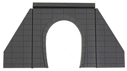 Z gauge 0001 single line for the tunnel portal (concrete) two sets of input (acrylic structure kit)