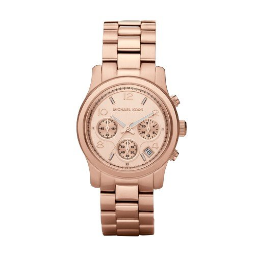 64761378d Amazon.com: Michael Kors Women's Runway Rose Gold-Tone Watch MK5128: Michael  Kors: Watches