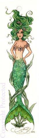 Amy Brown Mermaid Fairy Bookmark