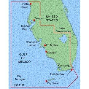 Garmin Bluechart MUS011R - Southwest Florida Data Card