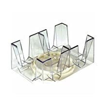 Revolving Playing Card Tray/Holder For 6 Decks [Game]