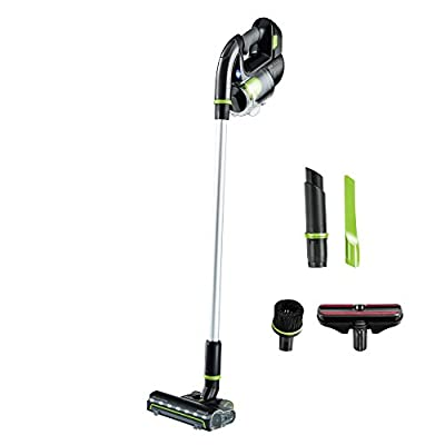 BISSELL Multi Reach Plus Cordless Stick Vacuum 22v Lithium Ion Battery with Removable Auto Hand Vacuum and Upholstery Tool, 21513