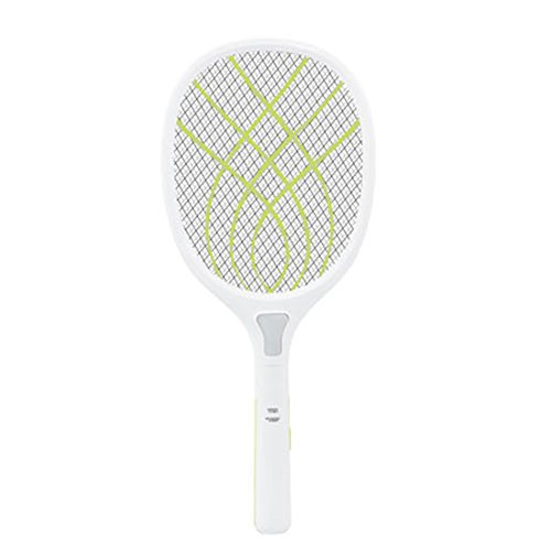 WOLFBUSH Electric Bug Zapper 3000V USB Charging Electric Mosquito Swatter Household Bug Zapper Racket LED Light (Apple Green) by WOLFBUSH