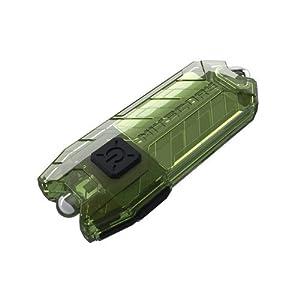 NiteCore Tube Keychain Light T Series 45 Lumen Multi Color Pocket Flashlight, Olive