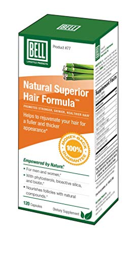 Natural Superior Hair Formula by Bell Lifestyle Products - 120 Capsules