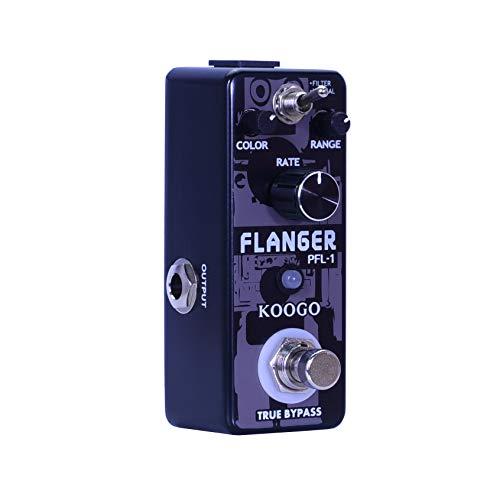 Koogo Guitar Flanger Vintage Pedal Classic Analog Effect Pedals Filter