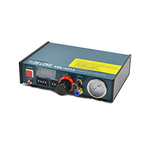 Digital Display Auto Glue Dispenser Solder Paste Liquid Controller Dropper (Digital Dispensing)