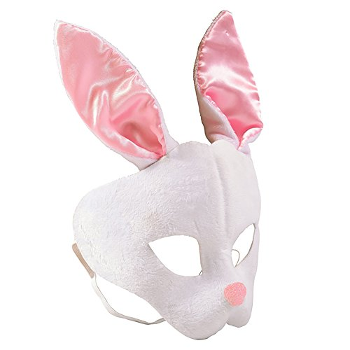 Animal Mask - Bunny Masks - Children Costume Accessory by Funny Party Hats (Cute Scary Halloween Costumes)