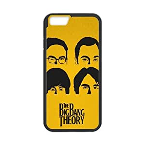 Big Bang Theory Beatles Style Iphone 6 Plus 5.5 Inch Cell Phone Case Black 218y-075980