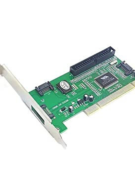 K-NVFA 3 puertos SATA& pci ide chipset de la tarjeta controladora ...