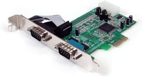 Startech.com 2 Port Native Pci Express Rs232 Serial Adapter Card With