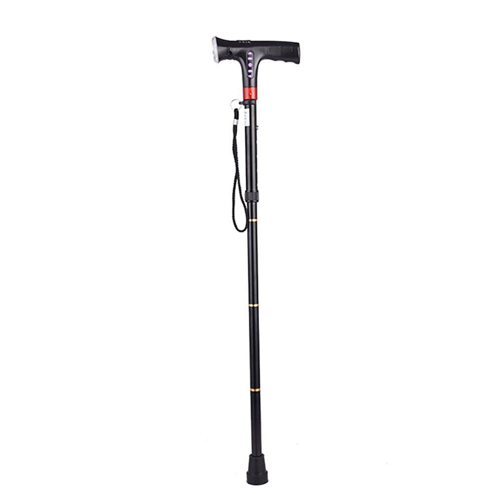 XUEPING 65cm92cmの範囲内の杖高齢者インテリジェント多機能引っ込め折りたたみ式歩行スティック ( サイズ さいず : Charging MP3 ) B078XD5TBX Charging MP3  Charging MP3