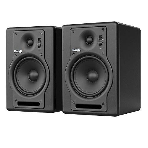 "Fluid Audio F5 (Pair) - 5"" 2-way Studio Reference Monitors, Black"