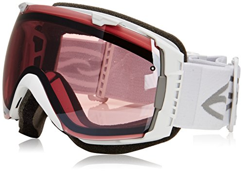 Smith IO Interchangeable Goggles with Bonus Lens Black Oil-Water/Green Sol-X, One Size by Smith Optics