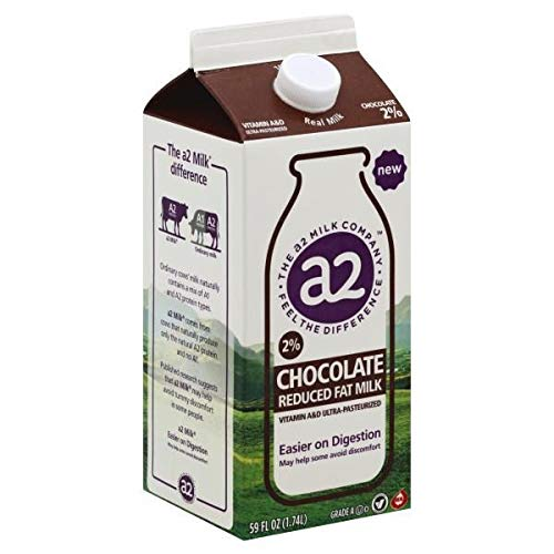 A2 CHOCOLATE MILK 2% REDUCED FAT 59 OZ PACK OF 2