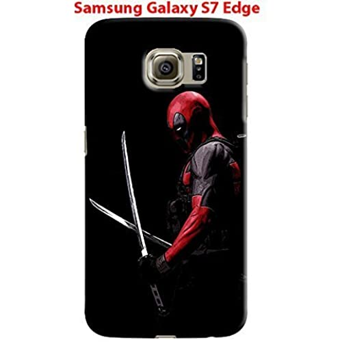 Deadpool for Samsung Galaxy S7 Edge Hard Case Cover (zbor17) Sales