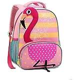 Mochila Infantil Flamingo Zoop Seanite Costas Tam P 2019