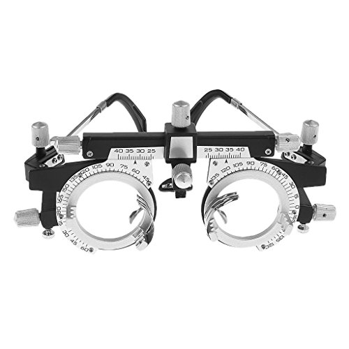 Dhoptical Optical Optic Trial Lens Frame Eye Optometry Optician/Easily Changeable Cylinder Axis, Fully Adjustable Temple Length and Nose Rest glasses shop use by Dhoptical (Image #1)