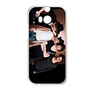 HTC One M8 Cell Phone Case Covers White The Kooks Jncdc