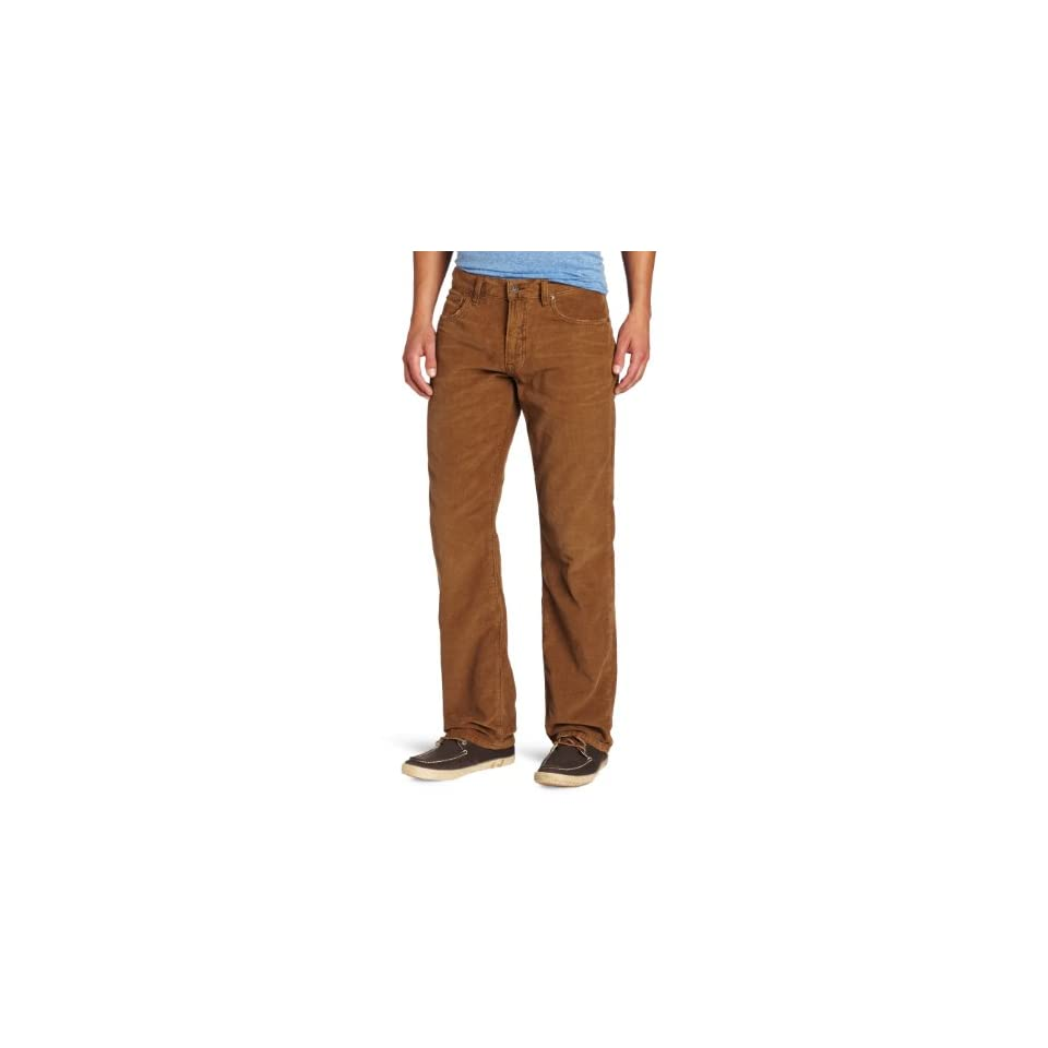 Lucky Brand Mens 221 Original Straight Leg Corduroy Pant, Metal Bronze, 29x32