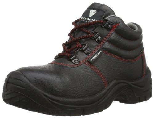 Maxguard ADAM 900116 Unisex-Erwachsene Sicherheitsschuhe, 900116, Schwarz (schwarz), Gr. 43