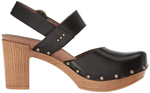 Black Dotty Heeled Full Women's Grain Sandal Dansko 6ATqx