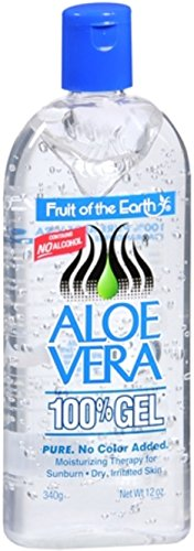 Fruit Of The Earth Aloe Vera 100 % Gel, 12 -