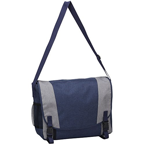 Bellino Urban Messenger Bag Color: Navy