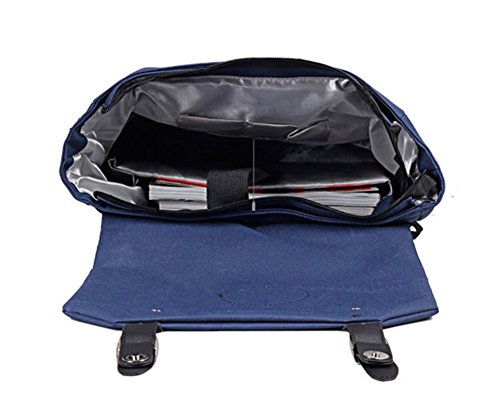 Drasawee - Bolso mochila  para mujer Morado morado 30*13*41cm azul claro