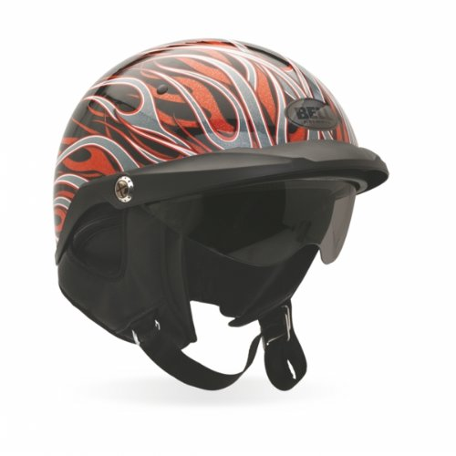 Amazon.com: Bell Pit Boss Open Face Motorcycle Helmet (Matte Titanium, X-Small/Small) (Non-Current Graphic): BELL: Automotive