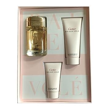 Amazon.com   Cartier Baiser Vole by Cartier for Women 3 Piece Set Includes   3.3 oz Eau de Parfum Spray + 1.6 oz Body Lotion + 3.3 oz Shower Gel   Beauty f2b1c167c