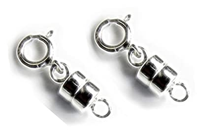 2 Sterling Silver Converters Magnetic Clasps (2 sets) by uGems