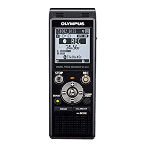 Olympus Digital Voice Recorder WS-853, Black