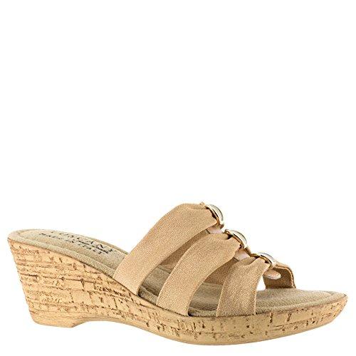 Facile Street Andrea Womens Sandale Naturelle
