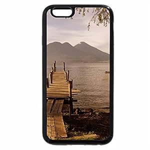iPhone 6S / iPhone 6 Case (Black) LAGO ATITLAN